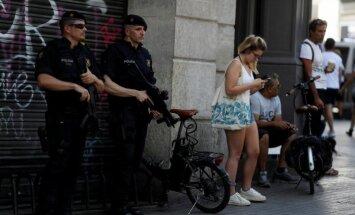 Saistībā ar Spānijas teroraktiem aizturēti trīs marokāņi un viens Spānijas pilsonis