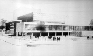 Vēsturiski foto: Dailes teātra ēkai aprit 40 gadu