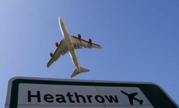 ВИДЕО: Как выглядит воздушный час пик в аэропорту Хитроу