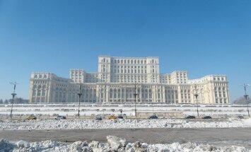ФОТО читателя Delfi: А вы бывали в грандиозном бухарестском Дворце Парламента?