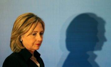 Hilarijai Klintonei ir trombs smadzeņu tuvumā