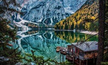 ФОТО. Альпийский глаз: бирюзовое озеро Брайес на итальянско-австрийской границе