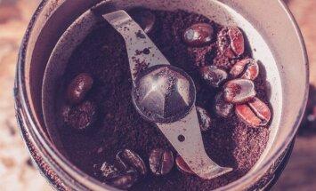 Kādas kafijas dzirnaviņas izvēlēties, lai dzēriens būtu svaigs un aromātisks