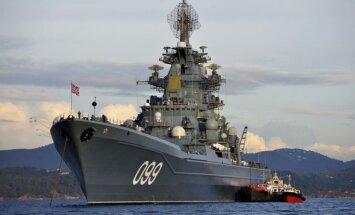 Putins izsludina pilnu kaujas gatavību Ziemeļu flotē