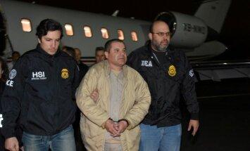 'El Chapo' ASV tiesās 2018. gada aprīlī