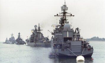 """В НАТО увидели крупнейшее перемещение ВМФ России со времен """"холодной войны"""""""