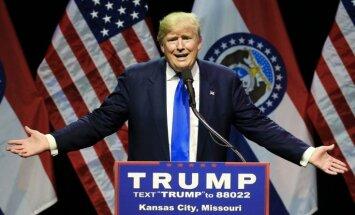 Priekšvēlēšanās Ņujorkas štatā uzvar Tramps un Klintone