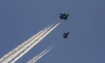 Latvijas tuvumā pamana Krievijas armijas lidmašīnu