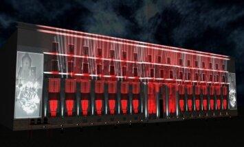 'Staro Rīga' laikā uz valdības ēkas būs redzami MK balvas laureātu attēli