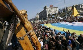"""Западные СМИ: Евросоюз скачет в Киеве на """"дохлой лошади"""""""