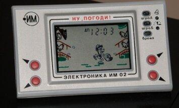 Laptops, planšete, pleijeris un cita PSRS laika elektronika