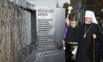 Vašingtonā atklāts Golodomora piemineklis