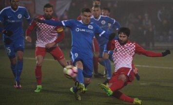 Divi Uldriķa vārti izrauj RFS komandai uzvaru pār valsts čempioni 'Spartaku'