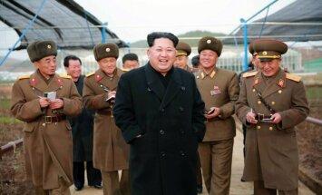 Kims pavēl sagatavot kodolarsenālu apsteidzošai lietošanai