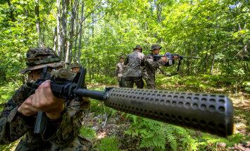 Jo vairāk amerikāņu izvieto Eiropā, jo labāk, saka Igaunijas aizsardzības ministrs