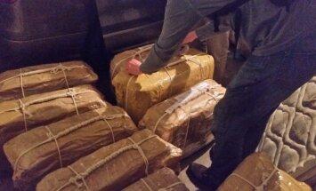Krievijas vēstniecībā Argentīnā atrasti 400 kilogrami kokaīna