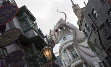 Atklāj otro 'Harija Potera' franšīzes atrakciju parku
