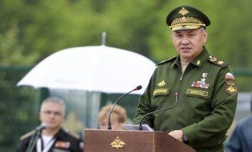 Ukraina starptautiskajā meklēšanā izsludina 18 Krievijas amatpersonas, arī ministru Šoigu
