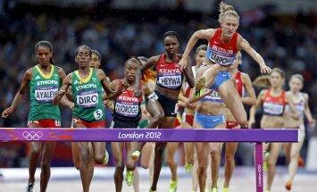 Dopinga lāsts turpinās: Krievijai nāksies atdot Londonas olimpisko zelta medaļu un PČ titulu