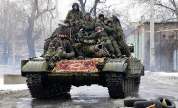 Kijeva: Krievijas teroristu bandas sākušas jaunu ofensīvu