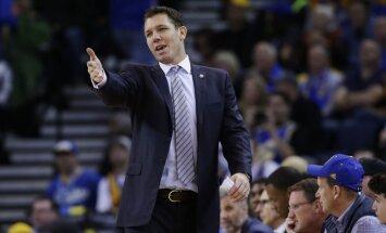 'Knicks' veikusi pārrunas ar NBA čempiones 'Warriors' galvenā trenera palīgu Voltonu