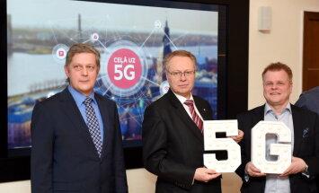 LMT iegūst divas 5G frekvences