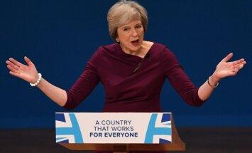 'The Guardian': Meja baņķieriem paudusi atbalstu Lielbritānijas palikšanai ES