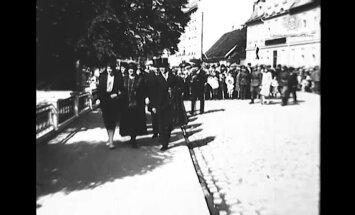 Video: 1930. gadā Jelgavā atklāj Jāņa Čakstes pieminekli