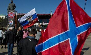 Latvijā internetā tirgo 'Jaunkrievijas' karogus