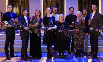Valmieras teātra labāko aktieru godā – Mennika, Dišlere, Apinis un Jakovels