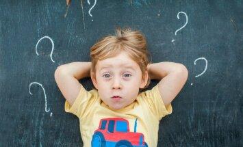 14 bērnu jautājumi, kas ne pa jokam var samulsināt pieaugušos