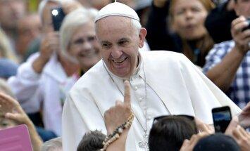 Минблаг одобряет идею о выходном дне в Латгале в честь визита Папы римского