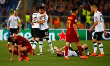 """Лига чемпионов: """"Ливерпуль"""" проиграл """"Роме"""", но вышел в финал"""