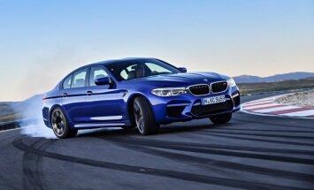 Jaunais 'BMW M5' ar pilnpiedziņu un 600 ZS
