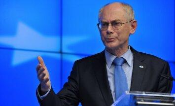 Van Rompejs: ES varētu pastiprināt spiedienu pret Krieviju