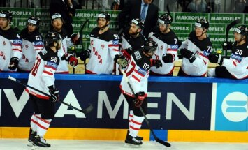 Kanādas hokejisti pretendē uz vienu miljonu Šveices franku lielu naudas balvu