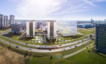 ФОТО: Эстонский девелопер вложит десятки миллионов евро в строительство офисных зданий в Риге