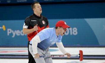 Kanādas kērlingisti pirmo reizi neiekļūst olimpisko spēļu finālā
