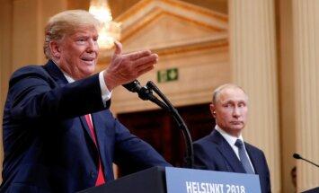 Tramps plāno uzaicināt Putinu uz Vašingtonu