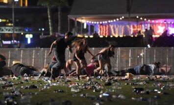 Apšaude Lasvegasā: vismaz 58 cilvēki miruši un 515 ievainoti