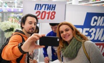 Путин оказался самым заметным кандидатом в бюллетене на выборах