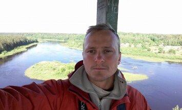 1544 km apkārt Latvijai bez pārtikas un naudas. Lielvārdieša Jāņa Mazitāna ceļojums