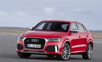 'Audi' atjauninājis 'Q3' modeli; 'RS' versija ar 340 ZS
