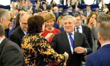 'Delfi' no Strasbūras: Itālis Tajani kļūst par jauno EP prezidentu. Teksta tiešraides arhīvs
