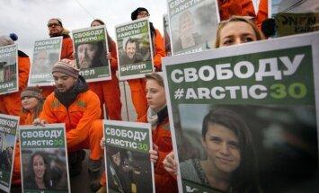 Krievija boikotēs Jūras tiesību tribunāla sēdes 'Greenpeace' lietā