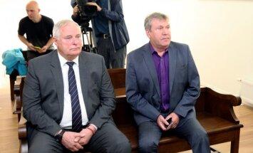Loginovs un viņa vietnieks Pečaks neatzīst vainu pret viņiem skatāmajā krimināllietā