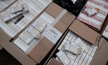 Zemgalē atsavina 311 500 nelegālo cigarešu un alkoholu