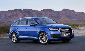 'Audi' oficiāli atklājis jaunās paaudzes 'Q7' apvidnieku
