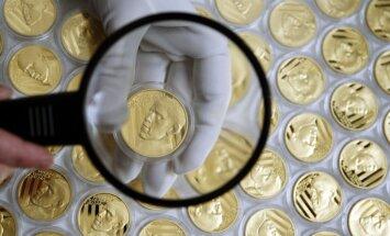 Valstis ar iespaidīgākajiem zelta krājumiem