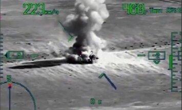 Krievijas aviācija Sīrijā iznīcinājusi 'Daesh' konvoju